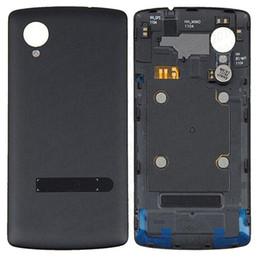 2019 cubiertas del nexo Nueva cubierta trasera Cubierta de batería con piezas de repuesto NFC para LG Nexus 5 D820 sin DHL rebajas cubiertas del nexo