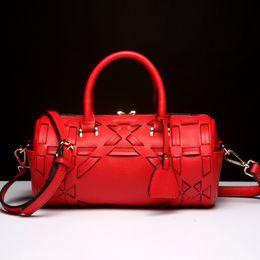2019 bolsos baratos bolsos negros Bolsos femeninos de alta calidad de la manera que empaquetan el bolso del regalo del regalo de Navidad de las mujeres