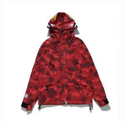 Wholesale Long Coat Stand - 2017 New Hot Sale sharkmens brand Coat camouflage jacket camo shark Jackets Waterproof windbreaker jacket
