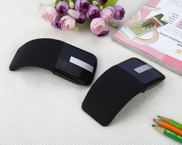 Wholesale Wireless Pc Gaming Mouse - Gaming Mouse GDS-01 Wireless Arc Touch Foldable Computer Mouse for PC Laptop computer TV Gamer Mouse