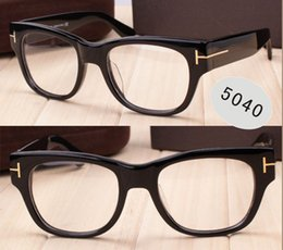 Wholesale Toms Style - Luxury brand TOM glasses SPEIKO TF5040 eyeglasses frame vintage style men brand eyeglasses optial with original case free shipping.