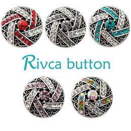 Wholesale Anniversary Charm Bead - D02183 Free Shipping Fashion 18mm Snap Buttons DIY snap button noosa chunks leather bracelet Fit DIY Noosa button Bracelet Jewelry