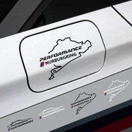 Wholesale Performance Tank - Car Fuel Tank Cap Cover Decoration Sticker For BMW X1 X3 X5 X6 3 5 series     Performance Sports Vinyl Decals