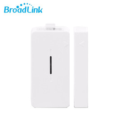 Wholesale Security Contact - Wholesale- Original Broadlink S1C 433Mhz Door Sensor Contact Wireless Window Magnet Entry Detector Sensor Smart Home Alarm Security System