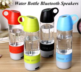Wholesale water bass - 1pcs Sell Water Bottle Bluetooth Speakers Waterproof Outdoor Bicycle Super Deep Bass Speakers Bluetooth Music Stereo Portable Speakers