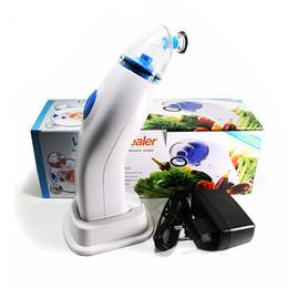 Wholesale Vacuum Sealer Wholesale - Handheld Reusable Vacuum Sealer Kit With Hand Pump Household Vacuum Food Sealer Packaging Machine Small Kitchen Tools For Food Saver