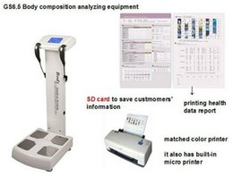 Wholesale Body Elements - body element analyzer professional body composition analyzer with Infrared printer A4 printer