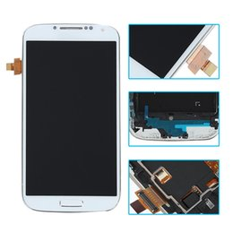 Wholesale I545 Screen - High quality For Samsung S4 LCD display Screen with Digitizer Touch Assembly Samsung Galaxy i9500 i9505 M919 L720 i545 R970 i337 free dhl