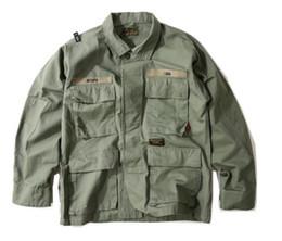 Wholesale Slim Military Jacket Men - kanye west military style jacket MA1 Pilot men jacket yeezus palace Harajuku army jacket Free delivery