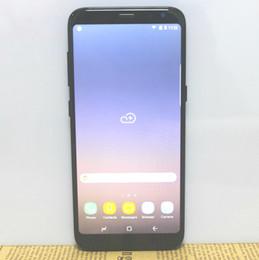 Wholesale Nano Hd - Full Screen Black Goophone S8 Quad Core MTK6580 1GB RAM 16GB ROM 1280*720 HD 5.8 Inch Display 8MP Camera 3G WCDMA GPS Smartphone
