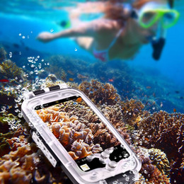 Wholesale Underwater Video Housing - Haweel Waterproof and Snowproof Phone Cover Case for Diving Housing Photo Video Taking Underwater Water Resistant 40M for mobile phone