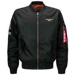 Wholesale Short Brown Leather Jackets - Wholesale- Male Motorcycle Fashion Leather Jacket Men Pilot Jackets And Coats Biker Mantel Mens Coats Famous Brand