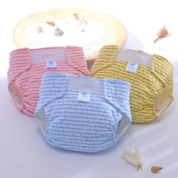 Wholesale Magic Baby Diapers - Baby Diapers Waterproof Adjustable Cotton Baby Nappies Training Pants Reusable Baby Diaper Infant Nappy Cloth Diaper Washable