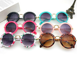 Wholesale Best Color For Baby Girl - New Fashion Children Sunglasses Boys Girls Kids Baby Child Sun Glasses Best Gifts For Christmas wa3140