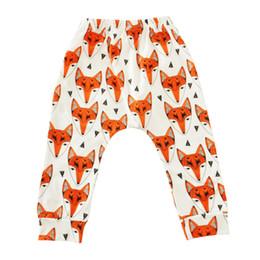 Wholesale harem trousers kids - 8 Style Ins Baby Animal Cartoon Leggings Kids Casual Printing Harem Pants Colorful Flamingo Fox Panda Tiger Dog Infant Long Trousers