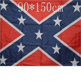 Wholesale North South - Party Flags Banners United States American Polyester South North War Flag Battle USA Rebel Festive Party Supplies Decoration Banner