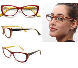 Wholesale Lightweight Prescription Eyeglasses - Brand Designer Optical Spectacle Frame Men Women Ultra Light Optics Glasses Frames Prescription Optical Eyeglasses Frame B04101