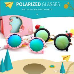 abaf2c8058 Kids Sunglasses Baby Boys Girls Fashion Polarized Sunglasses Kids Children  Sun Glasses Beach Toys UV400 Sunglasses kids Sunbolck