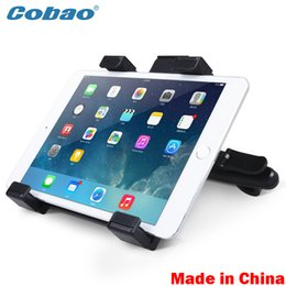 Wholesale Universal Dvd Headrest Mount - Wholesale- Universal Car Back Seat Headrest Mount Holder tablet car accessories For GPS DVD Google Nexus 7 10 iPad 1 2 3 4 Mini