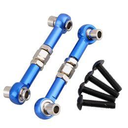 Wholesale Hpi Wr8 Flux - RC HPI 107905 Navy Blue Aluminum Front Rear Servo Link 2P Screws For WR8 Flux