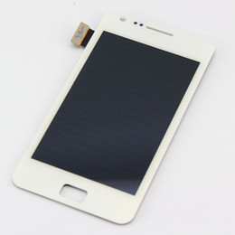 Wholesale Galaxy S2 Lcd Panel - For Samsung Galaxy SII S2 i9100 LCD Display With Touch Screen Digitizer Assembly Parts Free Shipping