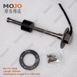 Wholesale Oil Gauges - Wholesale- free shipping~ MJ-F5 OEM 10mm accuracy Resistance output oil fuel level sensor gauge
