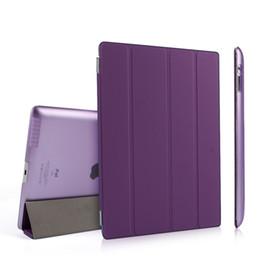 Canada En gros comprimé cas PU Cuir Mince Magnétique Pliant Avant Smart Cover Peau + dur PC Shell Retour Cas Pour ipad 2 3 4 supplier apple ipad wholesale Offre