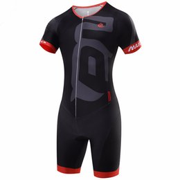 Wholesale Cycling Jersey Skinsuit - Malciklo Brand 2016 High Quality Newest Pro Fabric Cycling Jerseys Jumpsuit Skinsuit Bike Clothing Triathlon Sport S001
