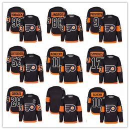 Wholesale Purple Flyer - 2017 Stadium Series Premier Jersey Philadelphia Flyers 53 Shayne Gostisbehere 17 Simmonds 9 Ivan Provorov 28 Giroux 10 Schenn 93 Voracek 88