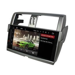 "Wholesale Toyota Prado Audio - 2GB RAM Octa Core 10.1"" Android 6.0 Car Audio DVD Player for Toyota Prado 2014 2015 With Radio GPS 4G WIFI Bluetooth USB DVR Car DVD Player"