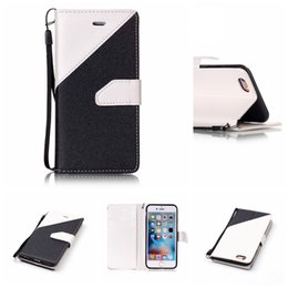 Wholesale Cheap China Wallets - PU LeatherWallet Standard China Cheap High Quality 10 Colors 4.7 5.5 Inch Case Cover for Apple iPhone 5SE 6G 7G