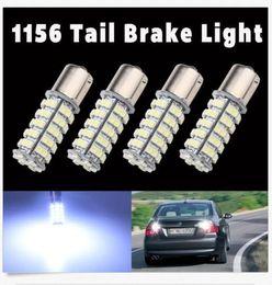 Wholesale 68 Smd Led 1157 - 50PCS 1156 1157 1210 S25 1156 BA15S LED 68 SMD RV Camper Turn Signal Light bulbs white