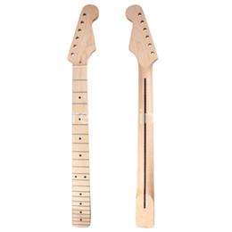Wholesale Electric Guitar Parts Necks - Wholesale! Guitar Neck Maple Fingerboard 22 Fret for Electric Guitar Neck Replacement Parts
