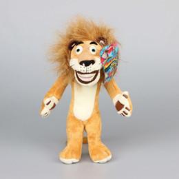 "Wholesale Alex Lion - Movie Madagascar Lion Alex Stufed Plush Toys Cute Animals Kids Gift 10"" 25 CM"