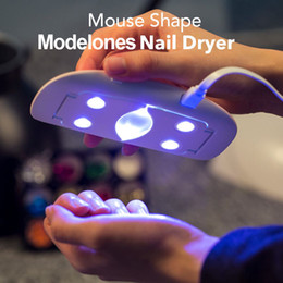 Wholesale Used Dryers - SUNmini 6w UV LED Lamp Nail Dryer Portable USB Cable For Prime Gift Home Use Gel Nail Polish Dryer Mini USB Lamp