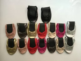 Wholesale Wholesale For Dancing Shoes - Low price!New Design!Wedding gift disposable flat foldable ballet flat shoes for dancing