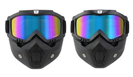 Wholesale Helmets Cross Country - For Harley Davidson motorcycle helmet goggles glasses cross-country retro personality mask riding masks anti-fog KTM bike locomotive