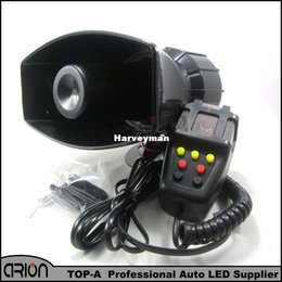 Wholesale Car Boat Motor - Hot Sale 12V 100W 7 Sound 300db Tone Wehicle Boat Car Motor Motorcycle Van Truck Siren Loud Horn Auto Speaker Alarm FreeShipping