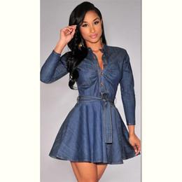 Wholesale Vertical Striped Dress Women - Women Dress Plus Size Women Clothing Loose Vertical Stripe Spring Dress Squarre Collar Long Sleeve Long Shirt Dress