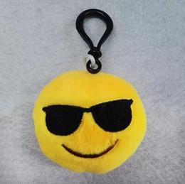 Nuovi 55 Stili Emoji giocattoli per Bambini Emoji Portachiavi Misti Emoji Portachiavi Ciondolo borsa 5.5 * 2.5 cm Spedizione gratuita A08 da