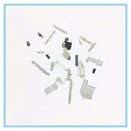 Iphone внутренний набор скобок онлайн-100 комплектов Комплект для полного набора для iPhone 5 5S 5C Внутренний внутренний кронштейн держателя для щита для небольших комплектов пластин для iPhone 6 6S 6P 7 7 Plus 6sp