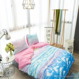 queen bedding sets clouds onlinenuevo edredn 3d conjunto de ropa de cama reactiva impresa