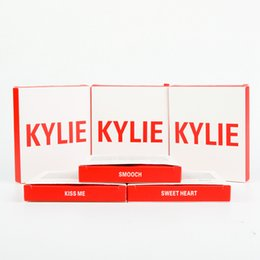 Wholesale Fast Mini Pc - Fast DHL Shipping Kylie Valentine edtion Mini For kylie Eyeshadow With 2 pcs lipgloss+one pcs Eyeshadow