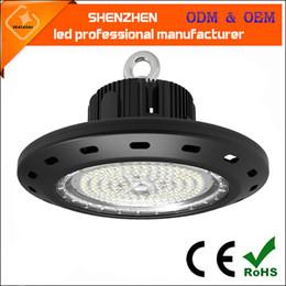 Wholesale led low bay lighting - new generation desingn cheap 100w 150w 200w UFO led high bay light led industrial ufo led low bay light super bright 120lm w