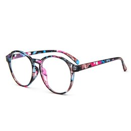 Wholesale w2 wholesale - Wholesale- OUTEYE Optical Glasses Frame Eyeglasses With Clear Glass Men Women Vintage Round Clear Transparent Women's Glasses Frames W2