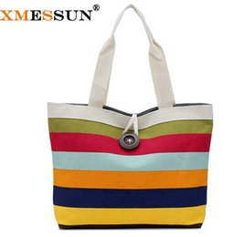 Wholesale British Clutch - Wholesale-Big Button British Plaid Handbags Hot Sale Women Wave Canvas Shopping Bag Ladies Party Purse Clutches Furly Candy Shoulder Bags