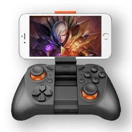 Wholesale controller for iphone - Wireless Gamepad player Bluetooth 3.0 Game Controller Handle Joystick for iPhone iOS Android smartphone For Gear VR PS3