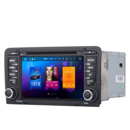 Wholesale Canada Car Stereo - RoverOne for Audi A3 S3 RS3 2003 -2013 Android 6.0 Touch Screen Autoradio Car DVD GPS Radio Stereo Multimedia Media System Head Unit