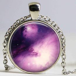 18f090b5439 2019 nebulosa universo galáxia NEBULA colar Pingente Espaço Omega Universo  Orion Carina Galaxy Orion Geekery Vidro