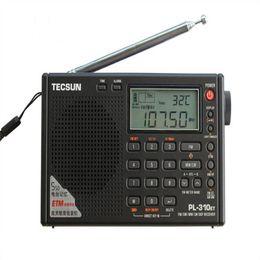 Argentina Al por mayor-Tecsun PL-310ET World Full Band Radio FM estéreo portátil FM / AM / SW / LW DSP Radio Digital Demodulation Radio supplier radios world Suministro